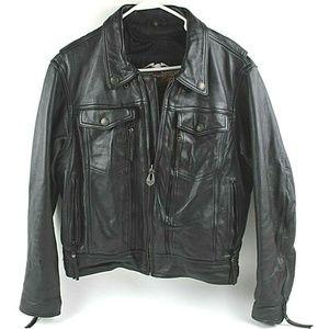 Genuine Harley Davidson Ladies Leather Jacket